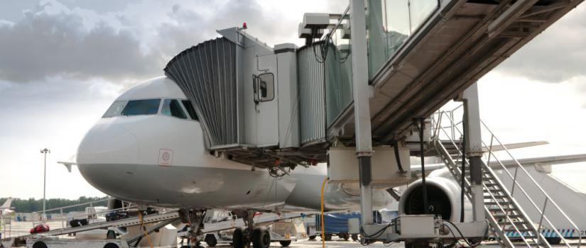 Image result for Aircraft Passenger Boarding Bridge